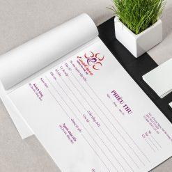 Thiết kế in hoá đơn cacbon, in phiếu thu, in phiếu nhập kho, in hoá đơn phiếu thu cacbon 2 liên 3 liên, thiết kế in Gia Khiêm, thiết kế in giakhiem.vn