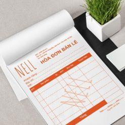 Thiết kế hoá đơn cacbon, in hoá đơn cacbon, thiết kế phiếu thu, in phiếu thu, in phiếu nhập kho, hoá đơn phiếu thu cacbon 2 liên 3 liên